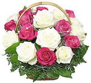 Цветочная корзина Романс