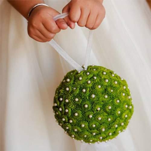 Цветы в форме шара