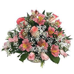 Цветочная корзина Дары весны
