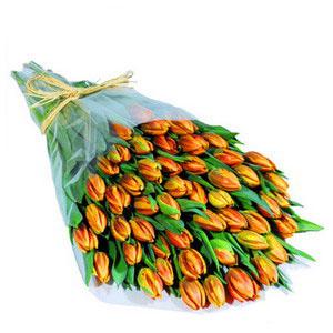Букет из тюльпанов Оранж